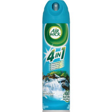8 Ounce Air Wick 4in1 Aerosol Air Freshener Fresh Water