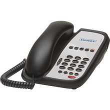 Teledex I Series Single Line Black Speakerphone