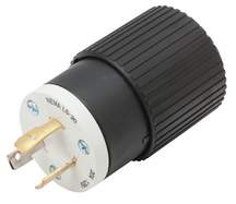 20 Amp Industrial Grade Locking Plug - 125 Volt