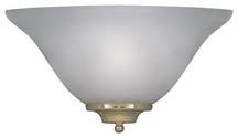 One-Light Wall Sconce Frosted Glass