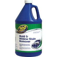 Zep Mildew Stain Remover - 1 Gallon - 4 Pack