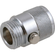 Chrome Plated Brass in-Line Shutoff Valve