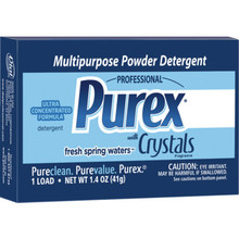 Laundry Detergent, 1.4 Ounce Purex Powder Case Of 156