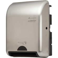 Georgia-Pacific enMotion Stainless Recessed Automated Touchless Towel Dispenser