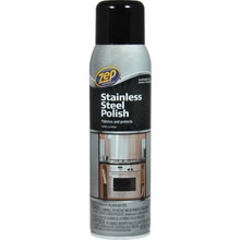 Stainless Steel Cleaner, 14 Ounce Zep