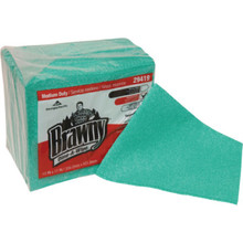 Georgia-Pacific Brawny Dine-A-Wipe Green Foodservice Busing Towel, Case of 240