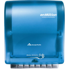 Georgia-Pacific enMotion Splash Blue Wall Automated Touchless Towel Dispenser
