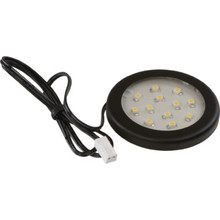LED Ultra-Thin Puck, Black