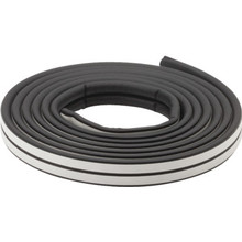 17' Black Epdm Rubber Weatherstrip