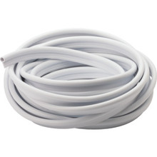 "1/2 X 1/4"" X 17' Weatherstrip White"