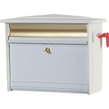 Mailsafe Security Mailbox- White