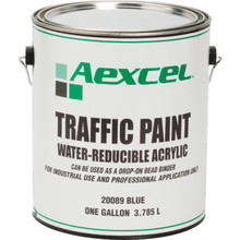 1 Gallon Aexcel Latex Traffic Paint - Blue