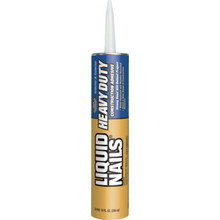 10 Oz Liquid Nails Heavy-Duty Construction Adhesive Caulk