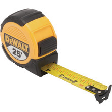 "DeWalt 1-1/8"" x 25' Tape Measure"