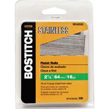 Bostitch 2-1/2 16-Ga Brad Nails 500/pk