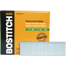 Bostitch 1-1/2 x 7/32 Crown Finish Staple 3000/pk