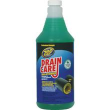 Drain Opener, 32 Ounce Zep Liquid Enzyme Case Of 12