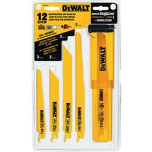 DeWalt 12-Piece Reciprocating Saw Blade Set