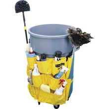 Rubbermaid Brute Caddy Bag, Yellow