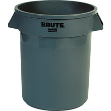 20 Gallon Rubbermaid Brute Gray Trash Can