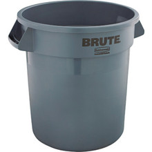 10 Gallon Rubbermaid Brute Gray Trash Can