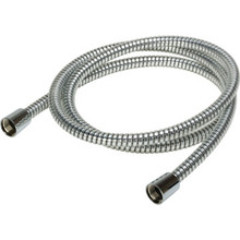 "1/2 x 72"" Chrome Shower Hose ABS Conicals 1/2"" FIP"