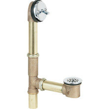Gerber Bath Waste Brass Tubular Trip Lever 20-Gauge