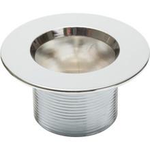 Drain Insert 10-24 Fine Thread Chrome Plated Metal