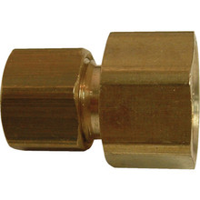 3/8 Comp X 1/2 Female Comp Brass Adapter