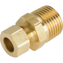 "Brass Reducing Union 1/2"" MIP x 3/8"" Package Of 5"