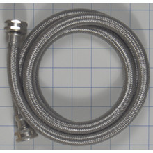 Pro SS 5' Braided Washer Fill Hose