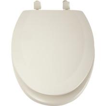 Seasons Wood Elongated Toilet Seat Standard-Duty Bone