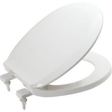 Seasons Plastic Round Toilet Seat Standard-Duty