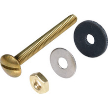 """Toilet Tank Bolts 5/16"""" x 3"""" Solid Brass Bolts and Nuts Package Of 10"""