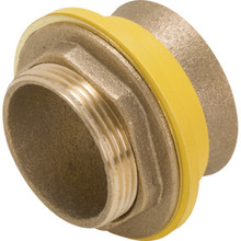 "Cast Brass Urinal Or Closet Spud 1-1/4"" x 1-1/4"" Pressure Assist"