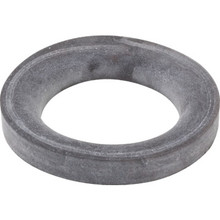 "Toilet To Floor Gasket 3/4"" Thick 5-1/4"" OD Rubber"