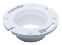 "Toilet Bowl Flange 3"" Or 4"" PVC"