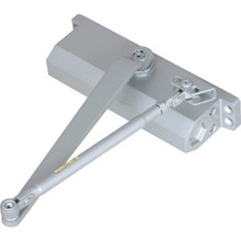 Shield Security Size 1-4 Hydraulic Heavy Duty Door Closer Aluminum