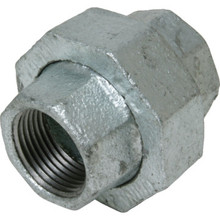 "Galvanized Malleable Union 1/2"" x 1/2"""