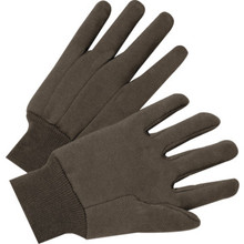 Glove Large Brown Jersey