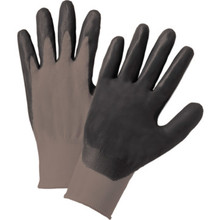 Glove Nitrile Coated Palm - Large