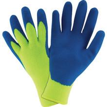 Glove Hi Vis Premium Thermal Cold Weather Latex Palm - Large