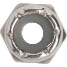 10-24 Stainless Steel Stop Nut Refill Box Package Of 15
