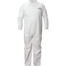 Kimberly-Clark Professional Kleenguard A40 Zipper Front Coveralls - Large