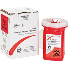Sharps Recovery System 1 Quart
