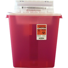 Sharps Container 3 Gallon Counter-Balanced Lid