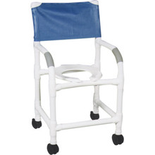 MJM Shower Chair Standard Royal Blue