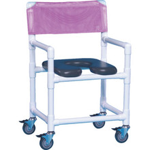 IPU Shower Chair Deluxe Wineberry
