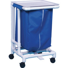 IPU Jmb Hamper With Foot Pedal 55 Gallon Royal Blue Mesh