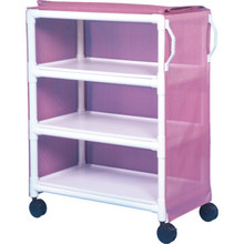 IPU Linen Cart Three-Shelf Wineberry